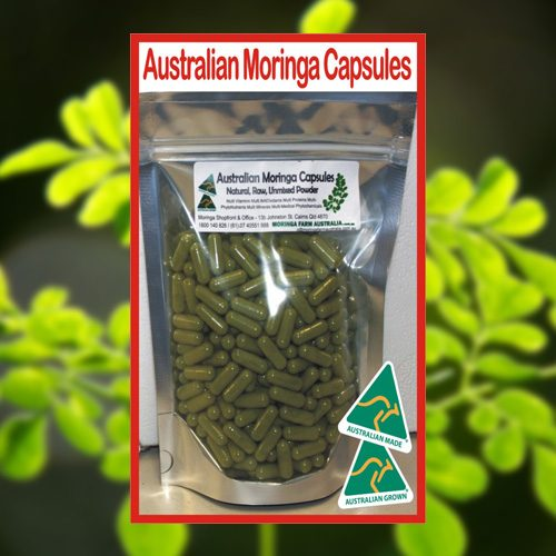 Buy Moringa Capsules 140g