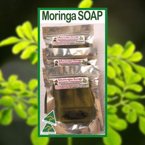 Moringa Soap 3 pack