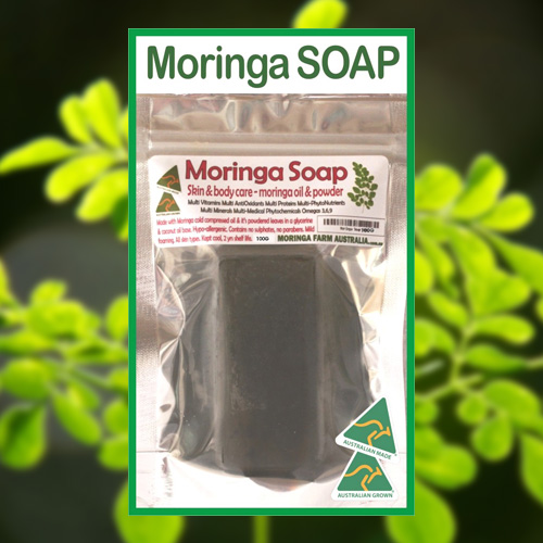 moringa soap 1 pack