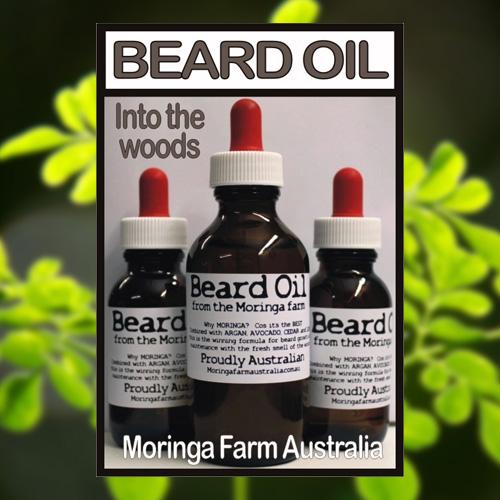 Moringa Beard Oil