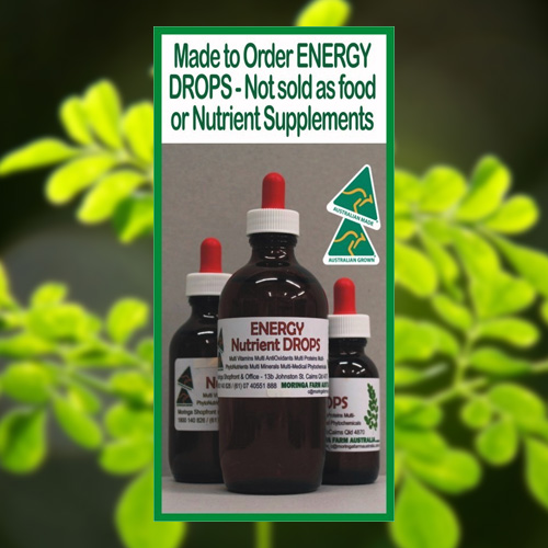 Moringa Energy Drops