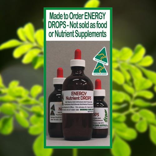 Moringa Energy Drops