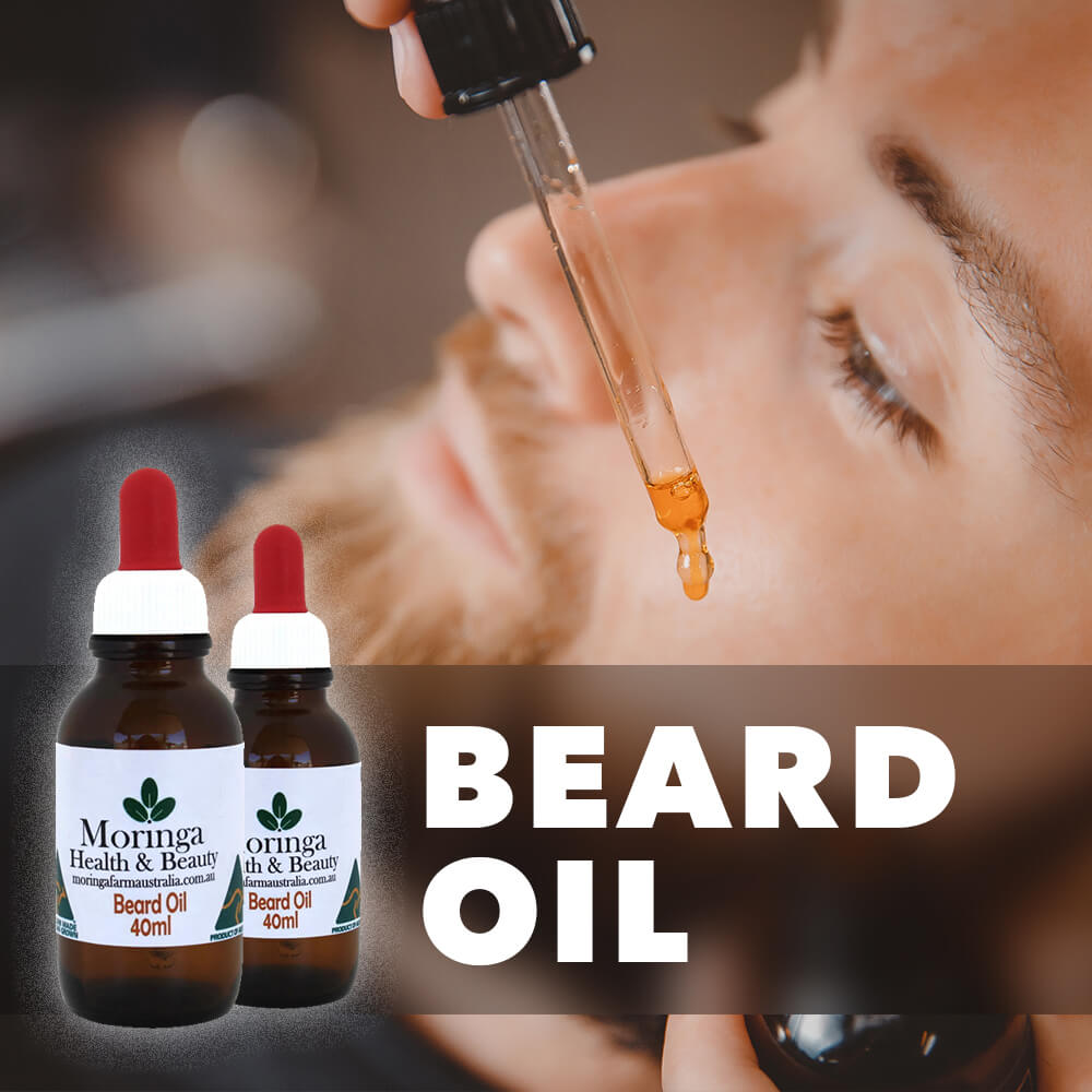 Moringa Beard Oil